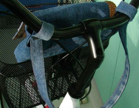 Dimensions of denim Bicycle Bag «Copenhagen».
