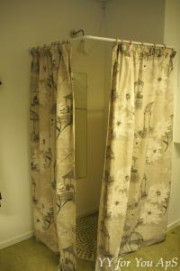 Fitting Room Curtains