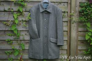 Man's Gray Coat