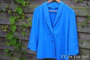 Woman's Blue Jacket